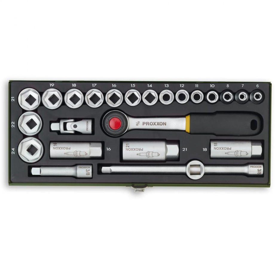 "Proxxon 24 Piece Socket Set (3/8"")"
