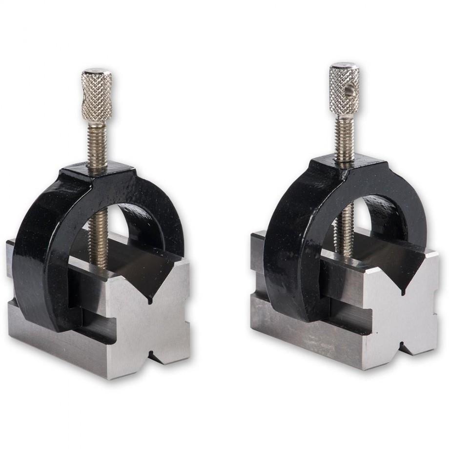 Proxxon Pair of Precision Vee Blocks