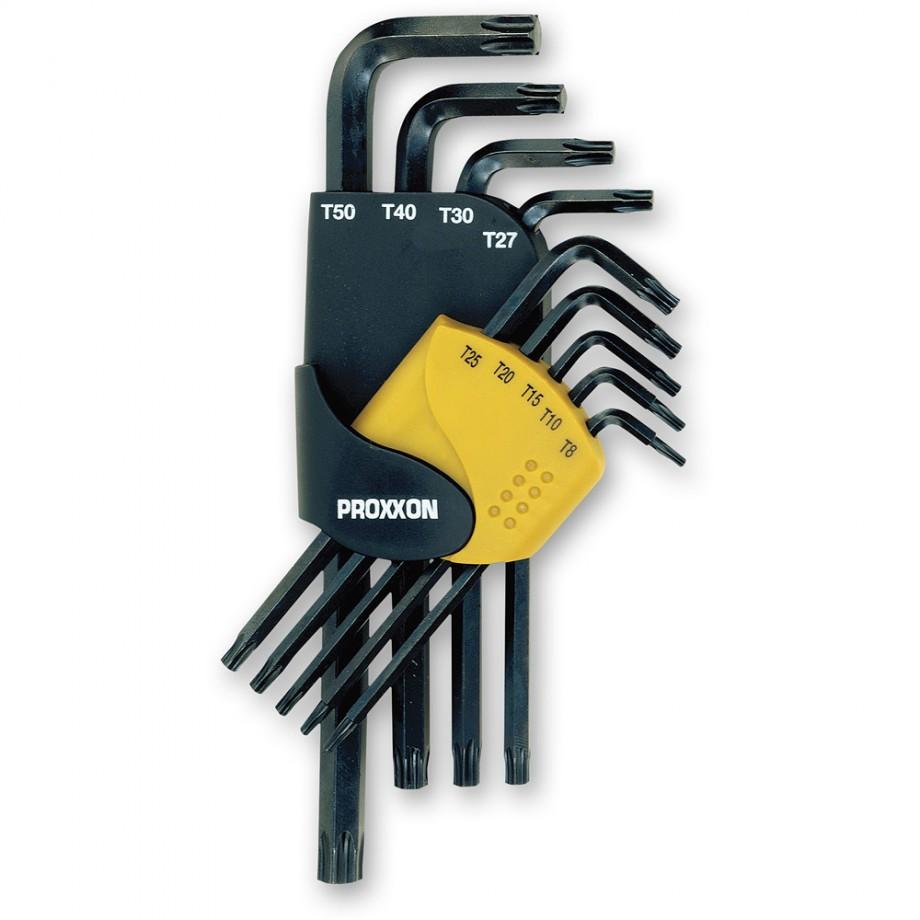 Proxxon 9 Piece Torx Key Set