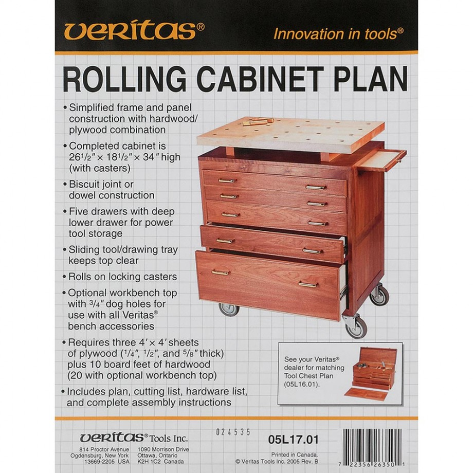 Plan - Veritas Rolling Cabinet