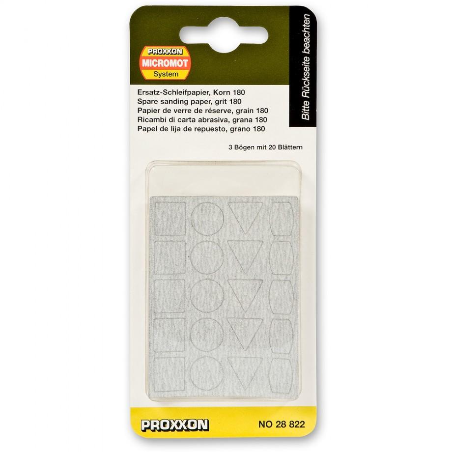 Proxxon PS 13 180 grit sanding Sheets