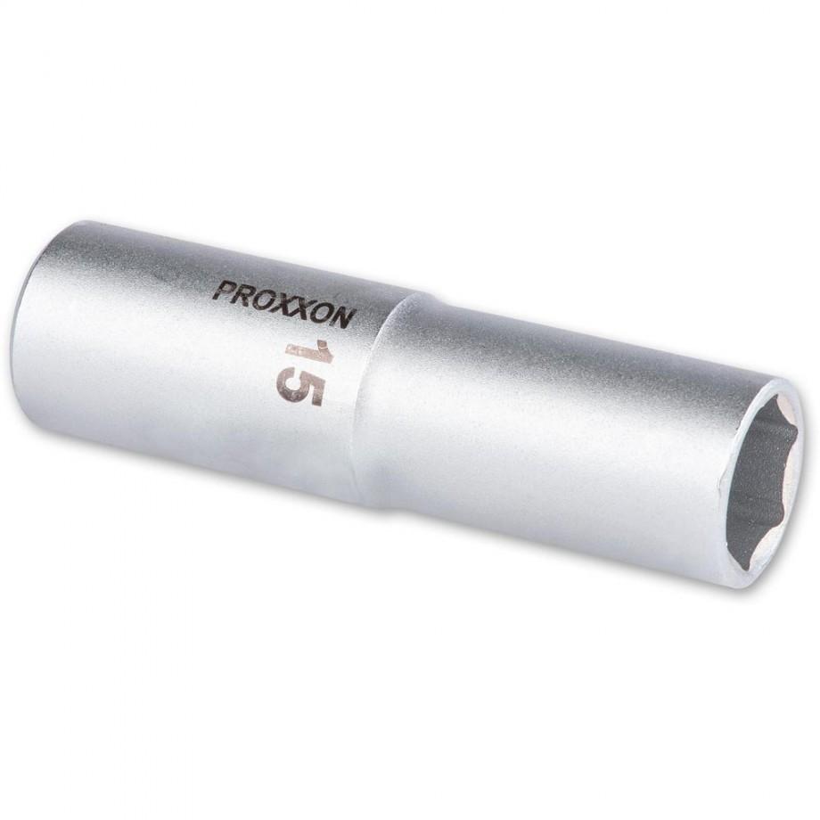 """Proxxon 1/2"""" Drive Deep Socket - 15mm"""