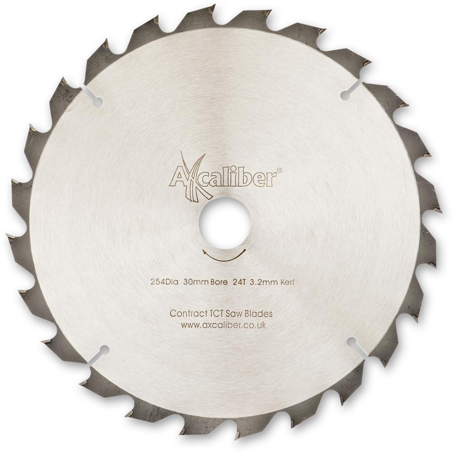 Axcaliber Contract 254mm TCT Saw Blades