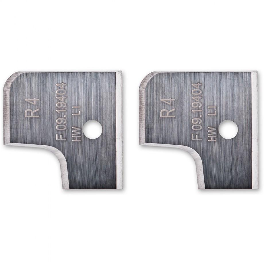 Axcaliber 4mm Radii Profile Knives