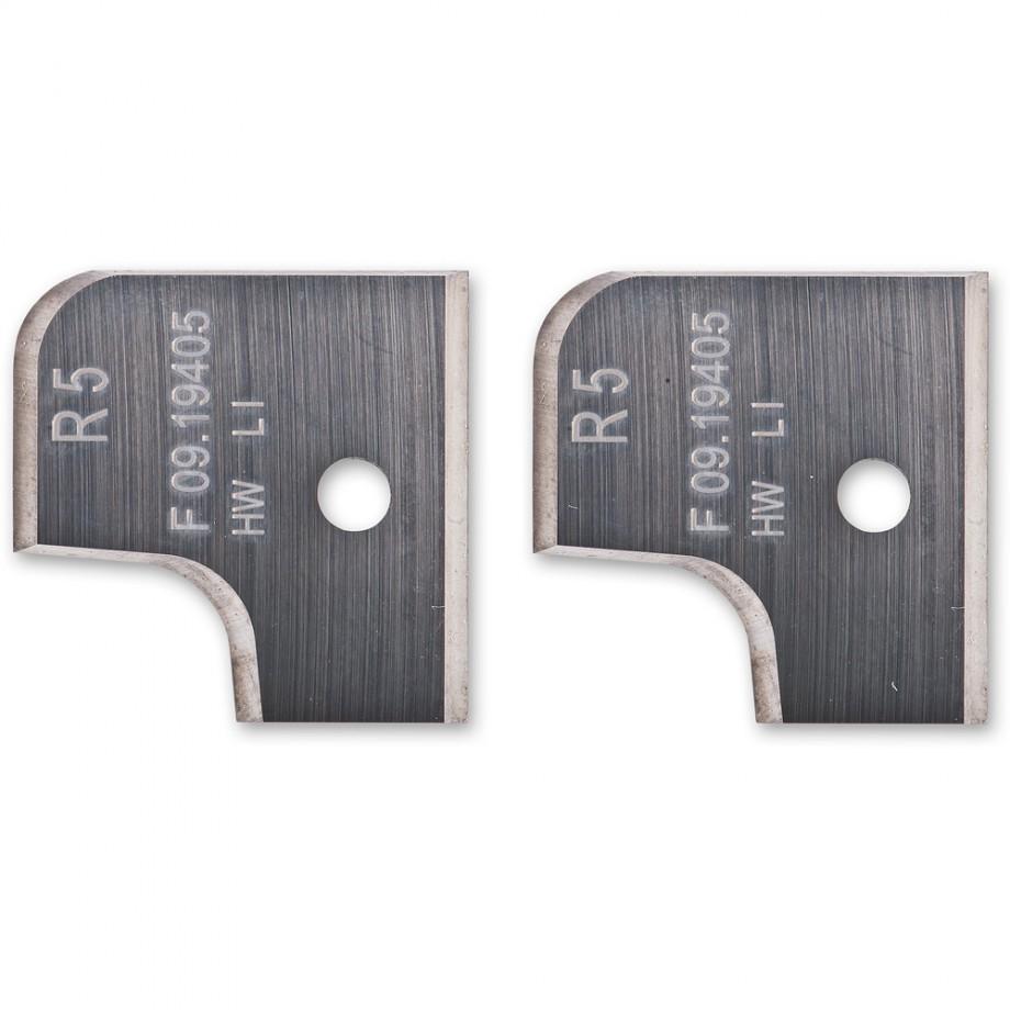 Axcaliber 5mm Radii Profile Knives