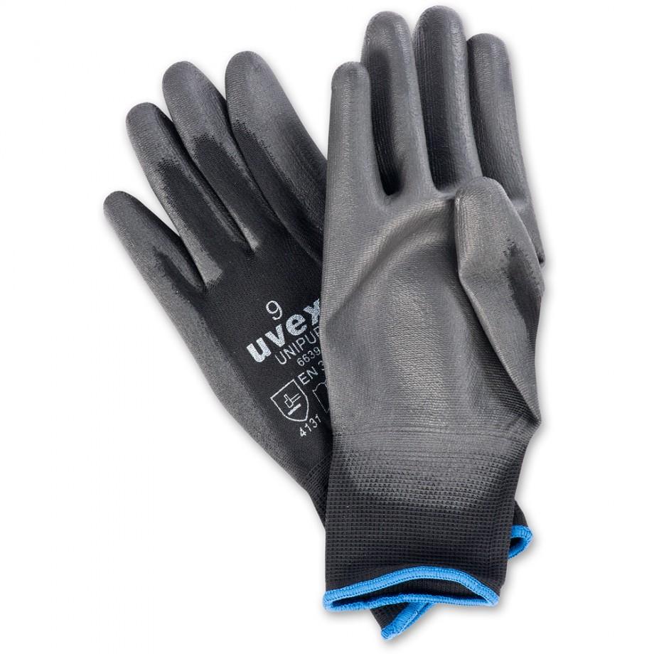 uvex unipur 6639 gloves - size 8 (M)