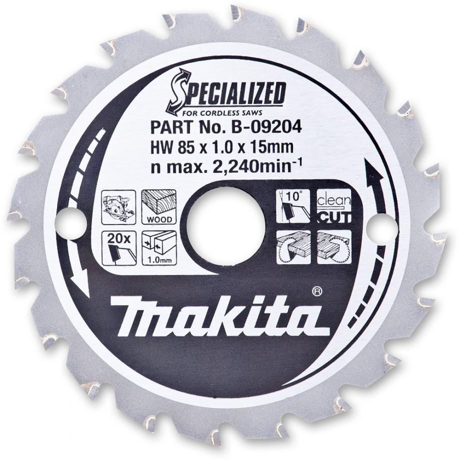 Makita 85mm Circular Saw Blade for HS300 Cordless Saw