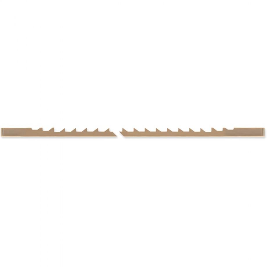 Pegas Skip Tooth Scroll Saw Blade - 7R - 10/7rtpi (Pkt 12)