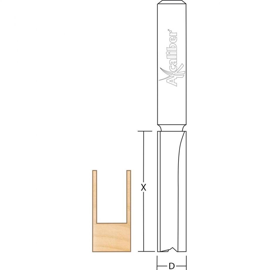 Axcaliber Worktop Cutter (Long Shank)