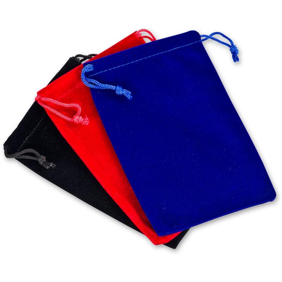 Velvet Drawstring Gift Bags (Pkt 3)