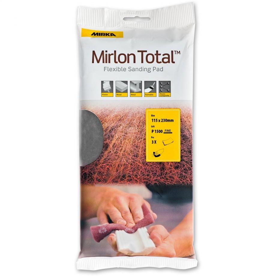 Mirka Mirlon Hand Pads 1500g (Pkt3)