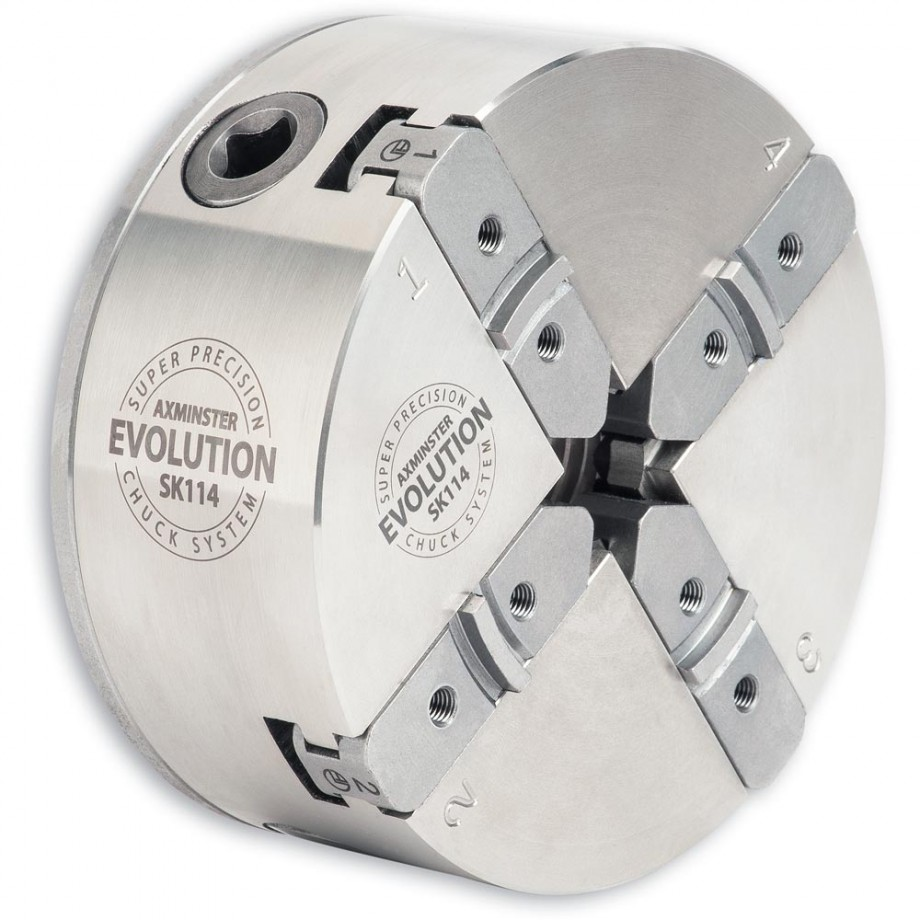 Axminster Evolution SK114  Chuck T38V M33mm x 3.5mm(Vicmarc)