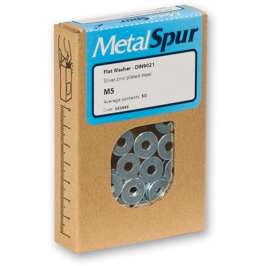 MetalSpur Flat Washers, M6 (Qty 50)