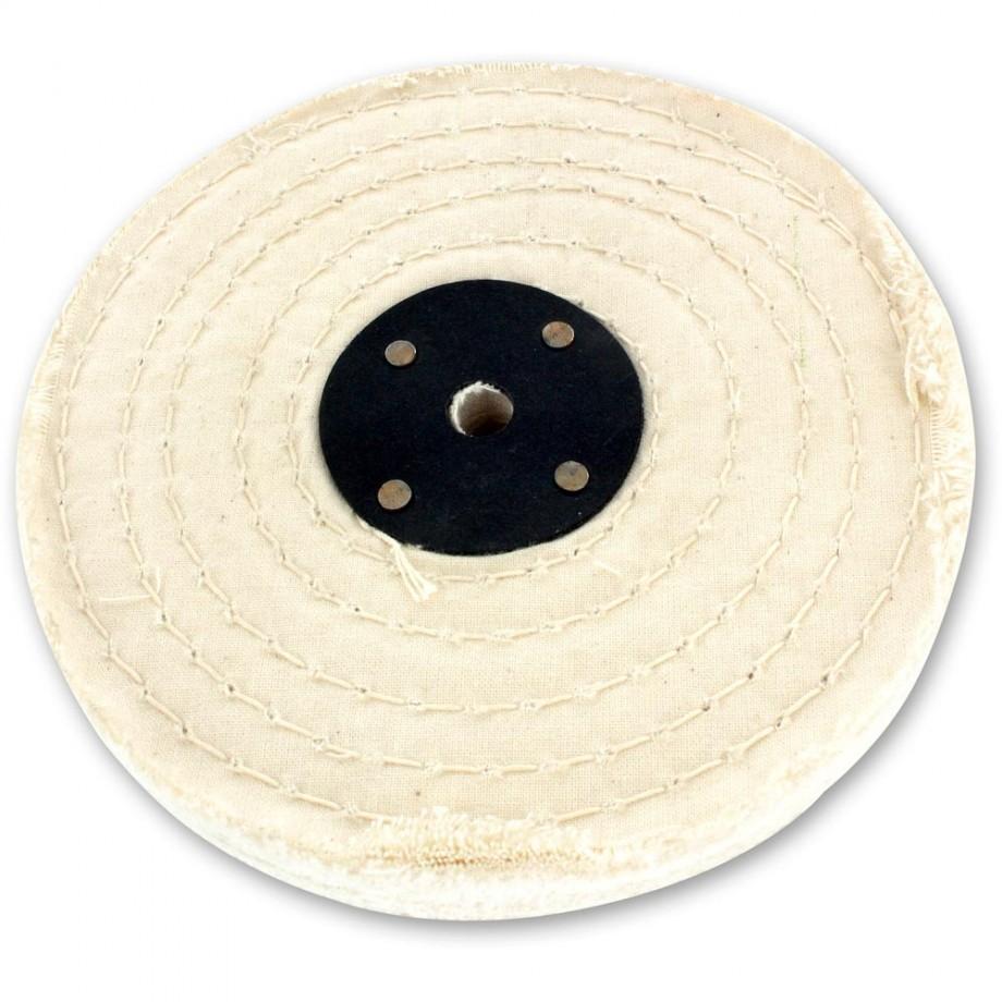 Shesto Polishing Mop Stitched Grade B - 150mm x 1 Section