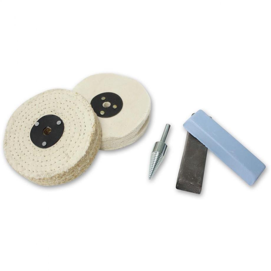 Heavy Duty Polishing Kit for Steel, Stainless Steel & Ferrous Metals