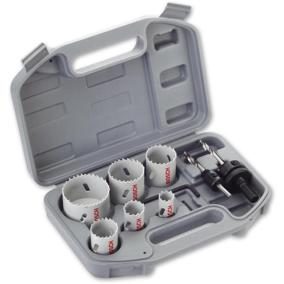 Bosch 8 Piece HSS Bi-Metal Holesaw Plumbers Set
