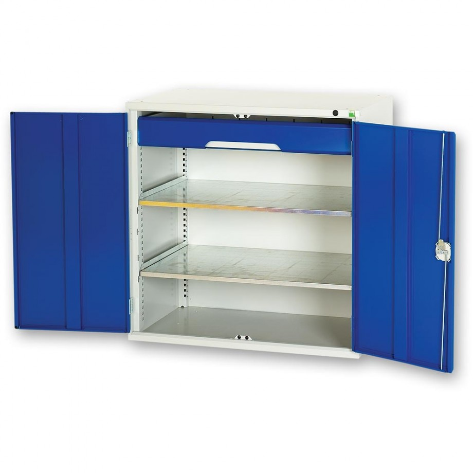bott Verso 1,000mm Kitted Cupboard - 2 x Shelves 1 x Drawer