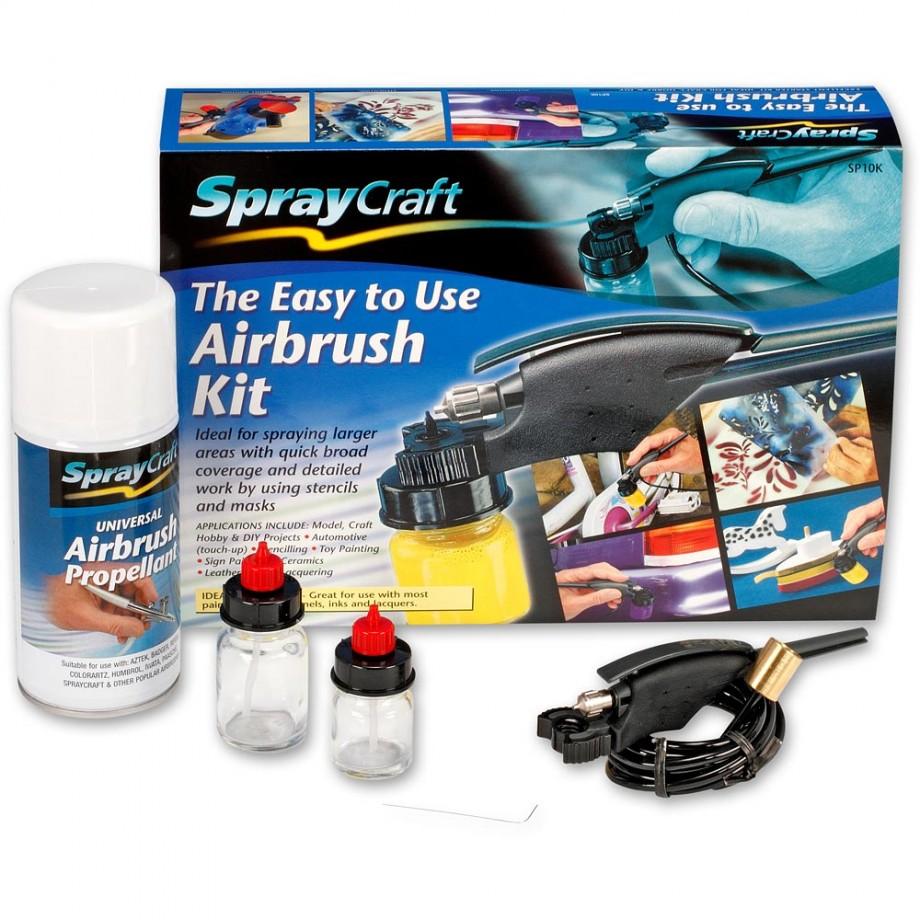 SprayCraft SP10K Easy-To-Use Airbrush Kit