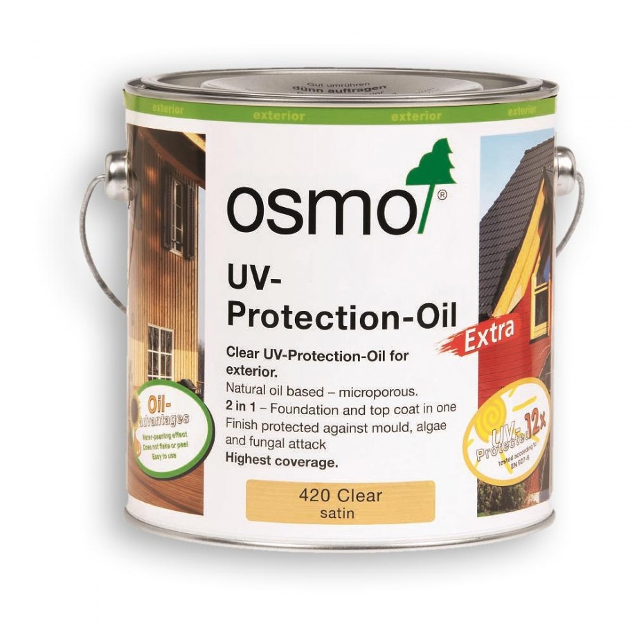 Osmo UV Protection Oil Clear 750ml