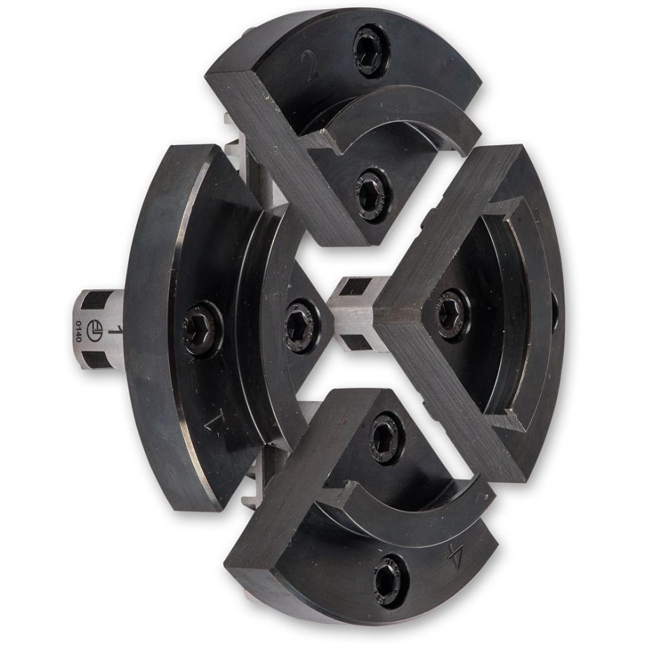 100mm Chuck Jaws with Accessory Mounting Jaws