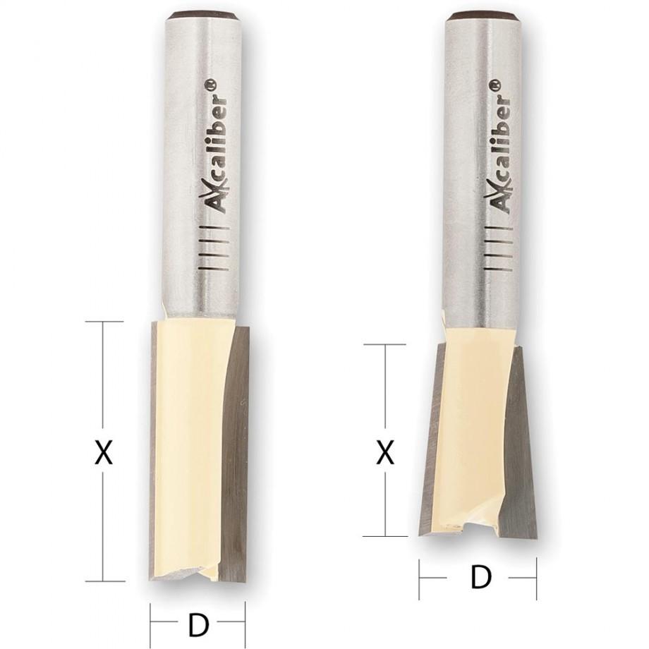 """Axcaliber Dovetail Cutter Sets for UJK Technology Jigs - 1/2"""" Shank"""