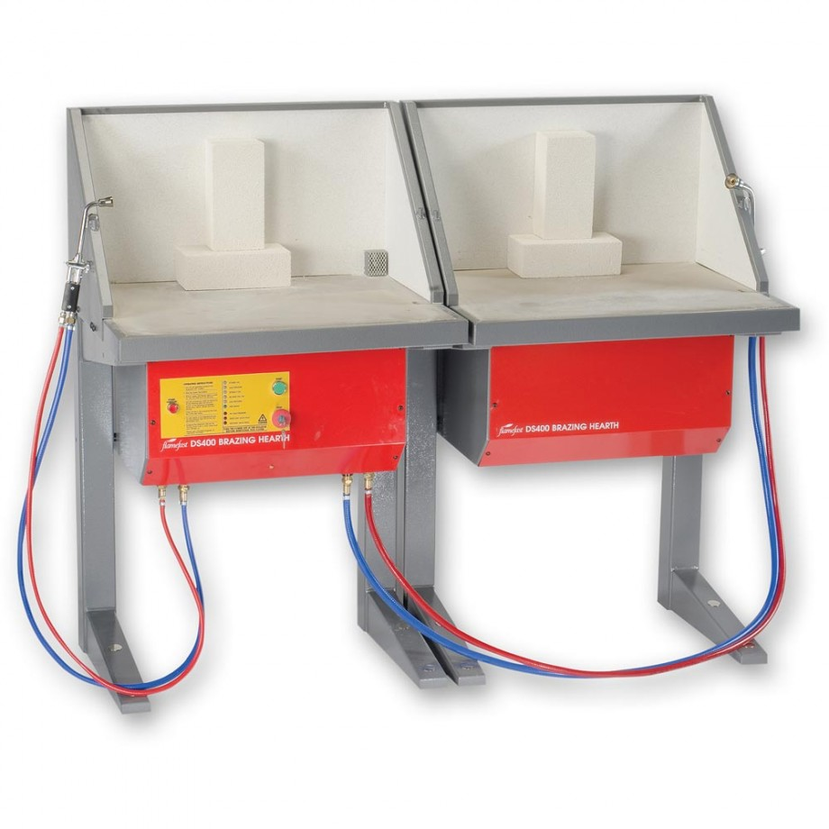 FlameFast DS400D Double Brazing Hearth
