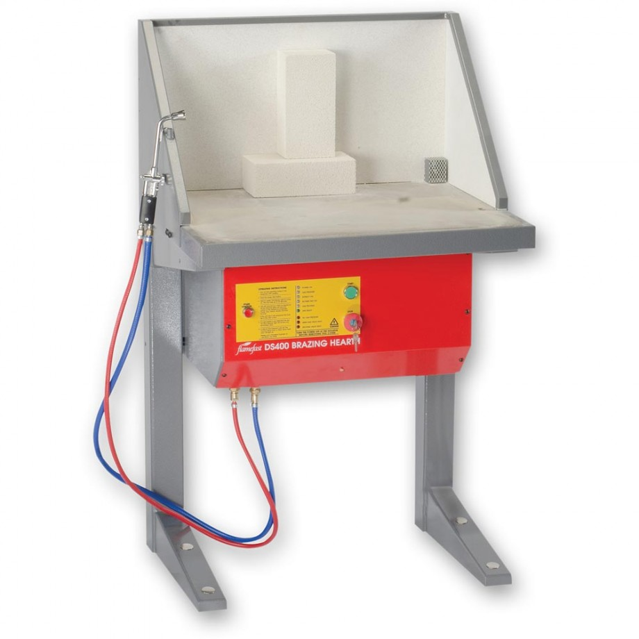 FlameFast DS400 Single Brazing Hearth