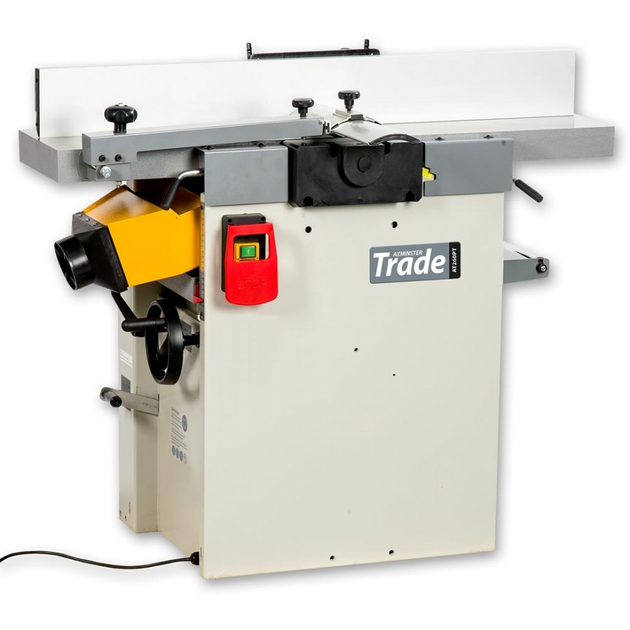 Axminster Trade Series AT107PT Planer Thicknesser Spiral Cutters 230V