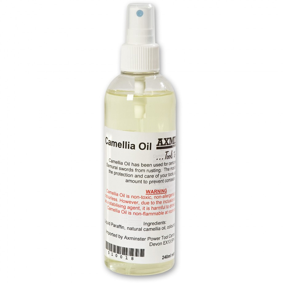 Camellia Oil Pump Spray Bottle