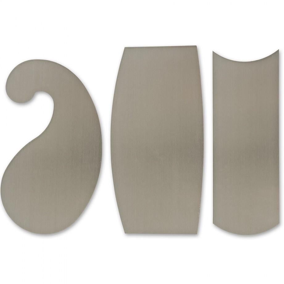 Veritas Super-Hard Curved Cabinet Scrapers
