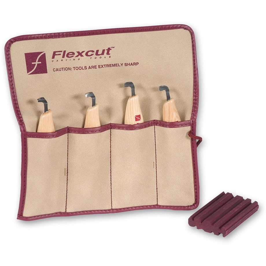 Flexcut Right Handed Scorp Set - 4 Piece