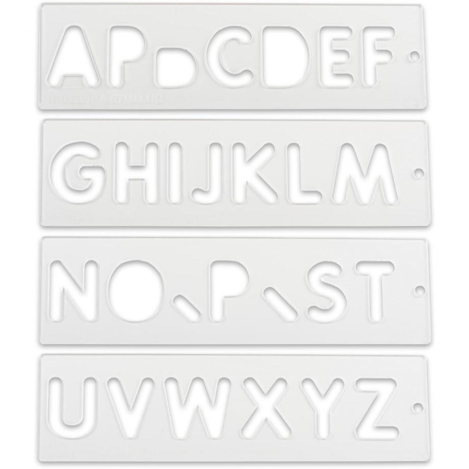 Trend Letter Templates - A-Z