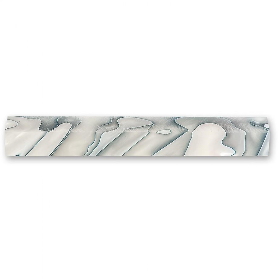 Craftprokits Silver Storm Acrylic Pen Blank