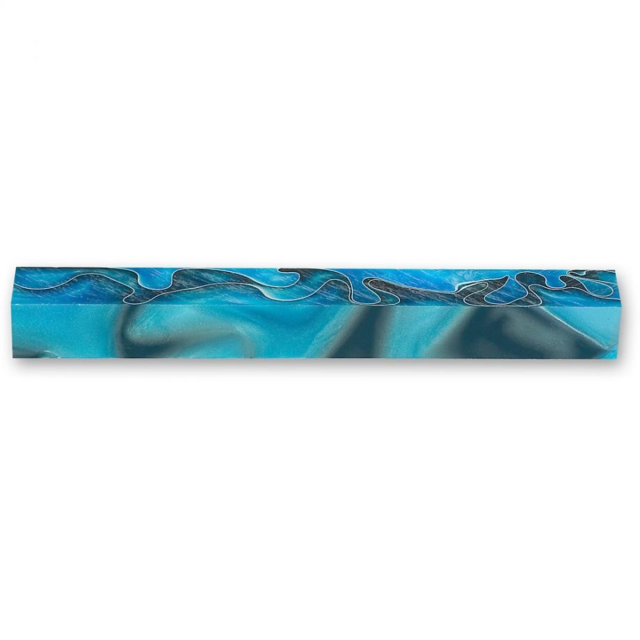 Craftprokits Coral Reef Acrylic Pen Blank