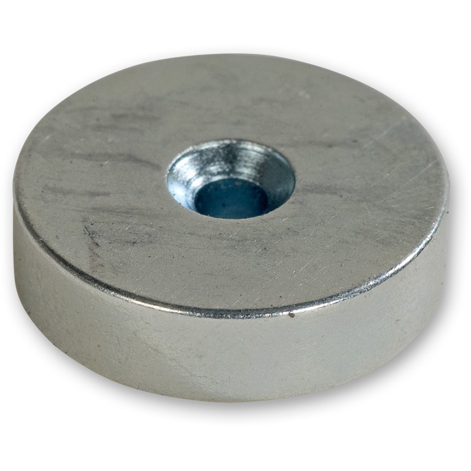 Axminster Countersunk Magnets - 10mm (Pkt 5)