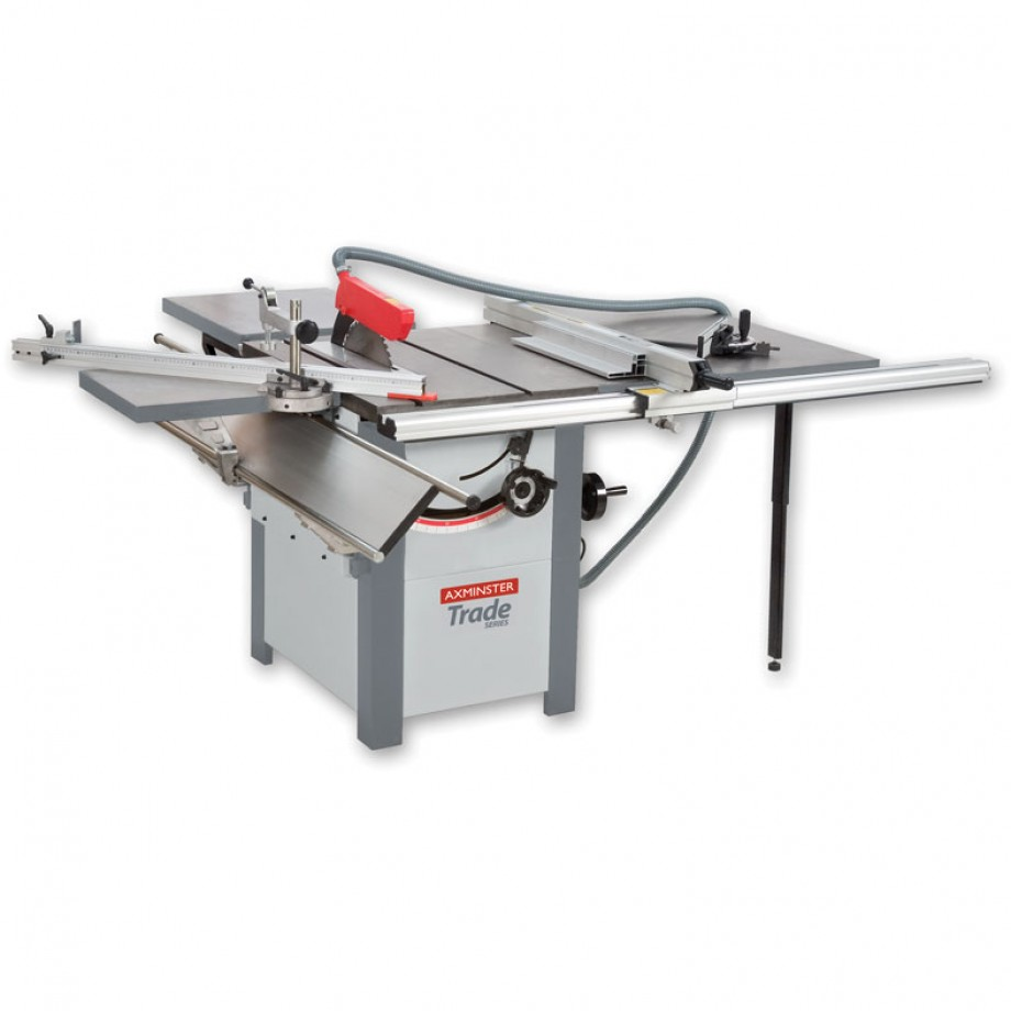 Axminster Trade Series AW10BSB2 Saw Bench Complete Kit 230V