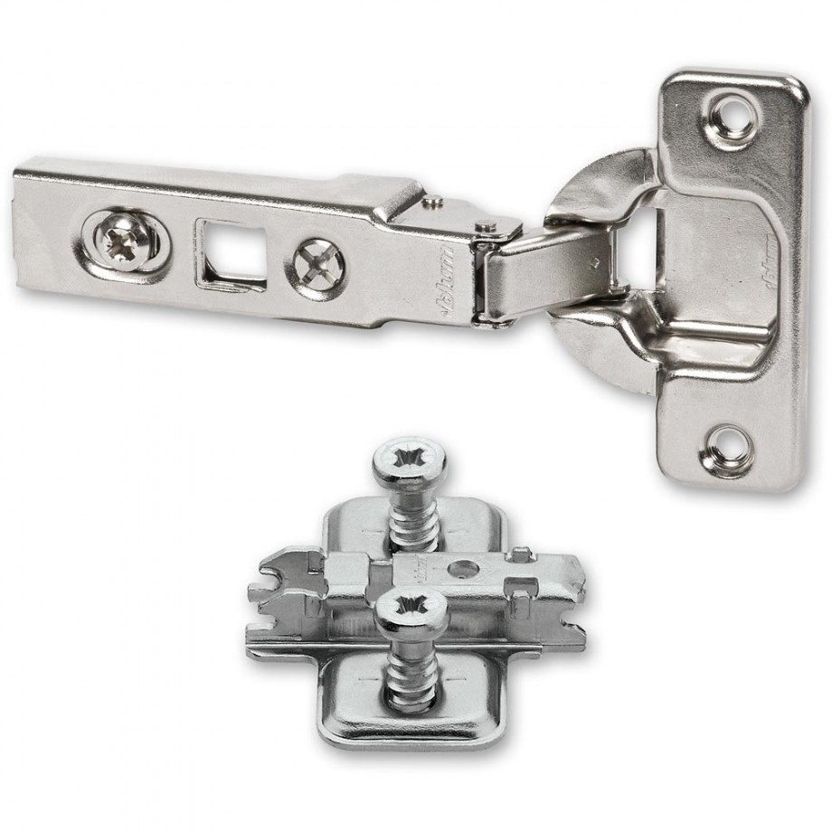 kitchen cabinet hinges blum blum clip top 100 deg hinge amp cruciform mount plate with 18918