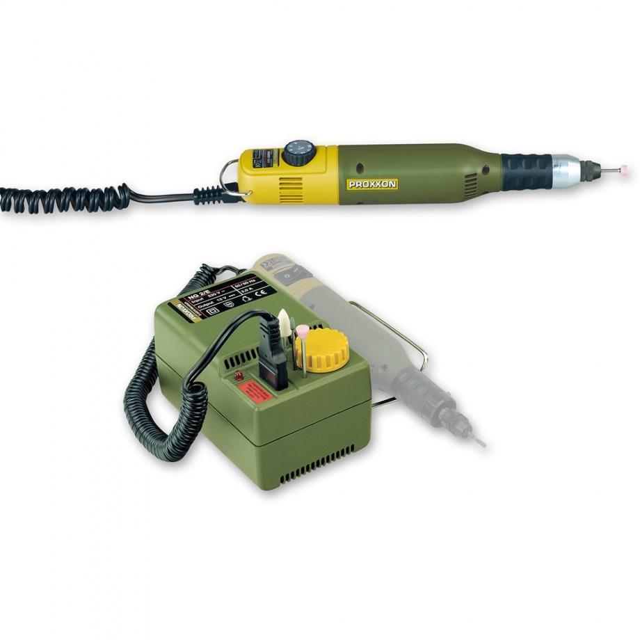 Proxxon  50/E Drill/Grinder & NG 2/E Mains Adaptor - PACKAGE DEAL