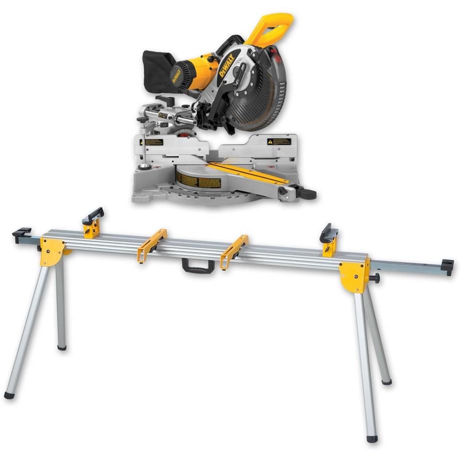 DeWALT DW717XPS 250mm Mitre Saw & DE7023 Stand