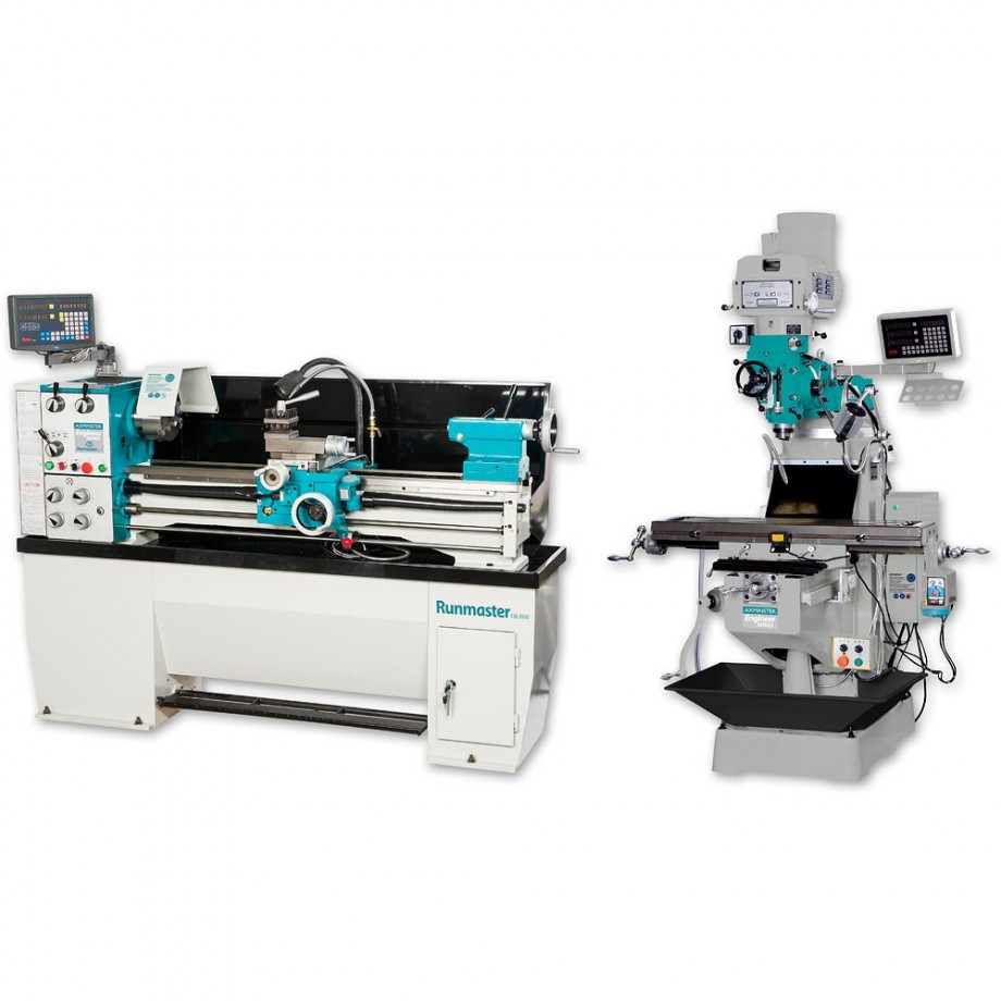 Axminster Engineer Series Runmaster Lathe & X6323A Mill - PACKAGE DEAL