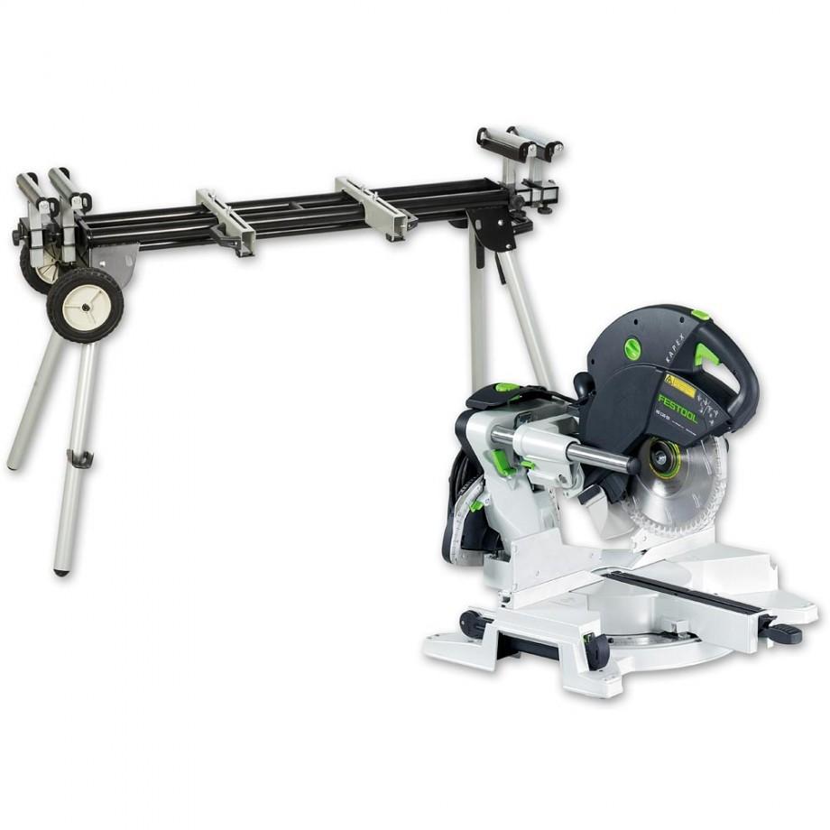 Festool KAPEX KS 120 EB Compound Slide Mitre Saw & Stand
