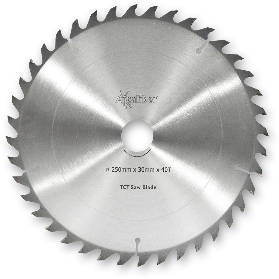Axcaliber Contract TCT Saw Blade General Purpose - 250mm x 3mm x 30mm T40