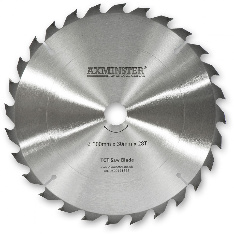 Axcaliber Contract 300mm TCT Saw Blades