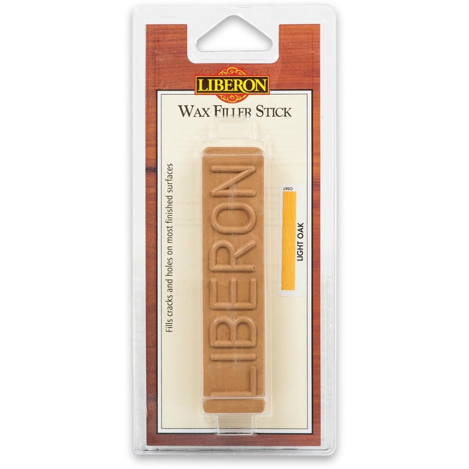 Liberon Wax Filler Stick - #02 Light Oak 50g