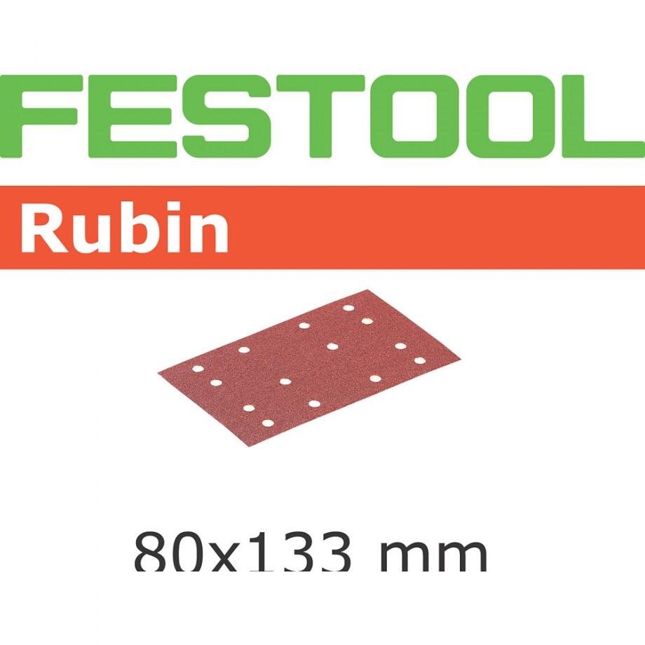 Festool Rubin 80 x 133mm Sanding Discs - 180 Grit (50)