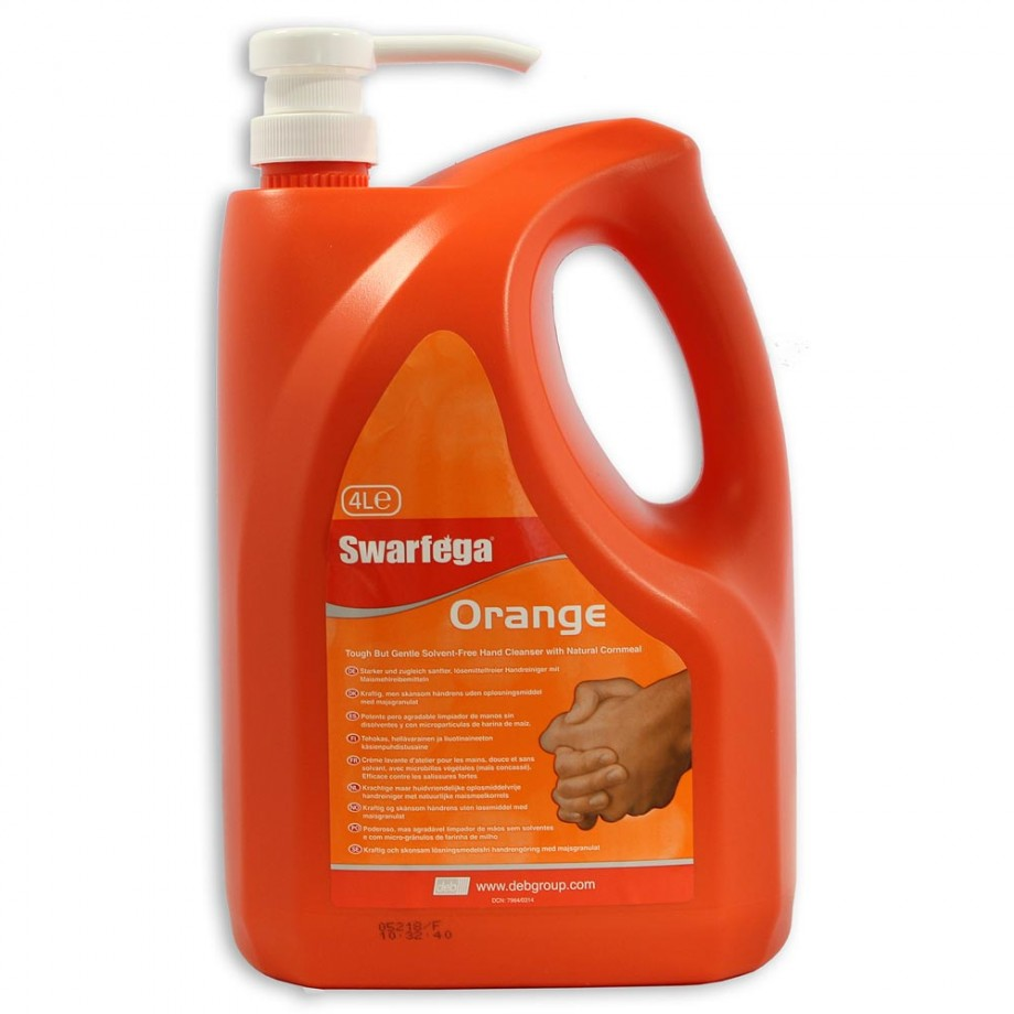Swarfega Orange Hand Cleaner - 4 litres