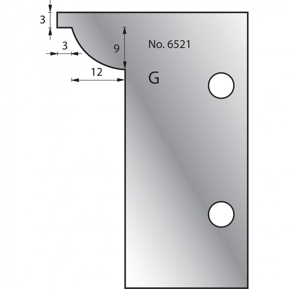 Whitehill No 6521 Scribing Cutter
