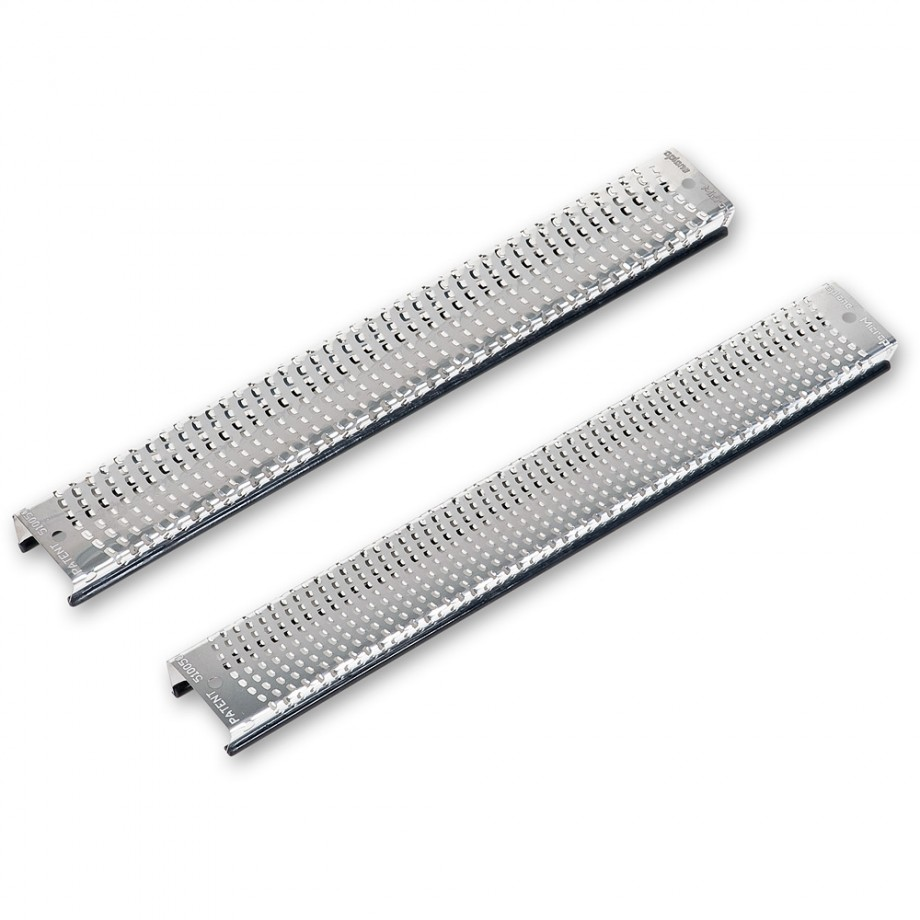 Microplane200mm Snap-In Coarse and Fine Flat Replacement Blades