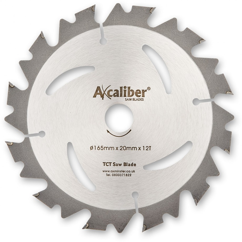 Axcaliber Contract TCT Saw Blade - 165mm x 1.5mm x 20mm T40