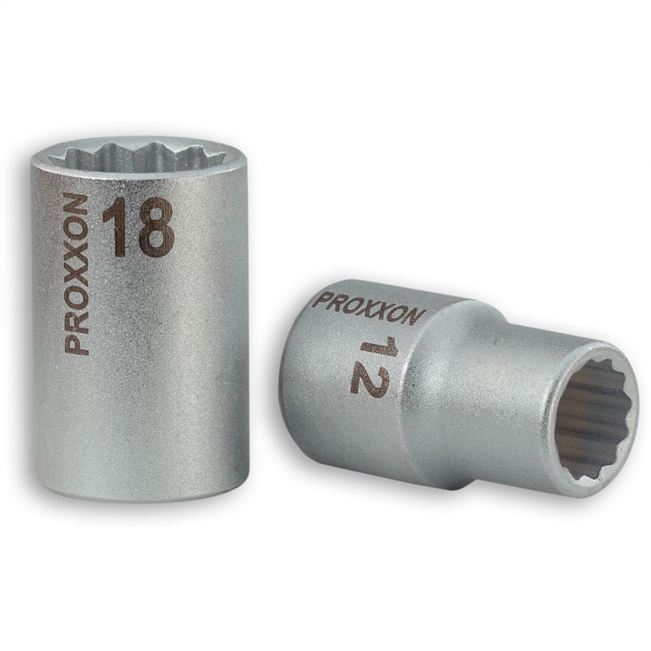 "Proxxon 1/2"" Drive Sockets for XZN-Screws"
